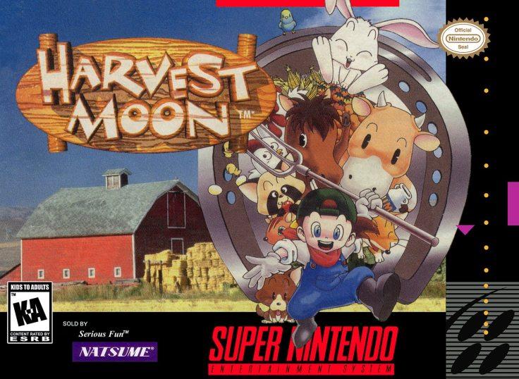 harvest moon snes