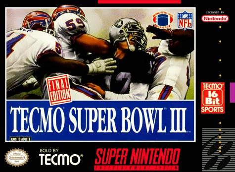 Techmo Super Bowl 3